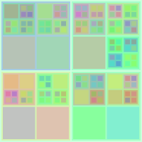 Colourful Recursive Squares 1